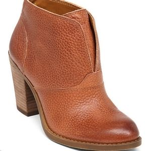 Lucky Brand Ehllen Bootie brown leather boots 10M